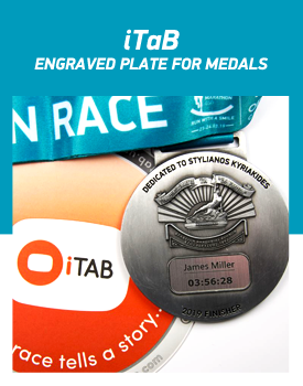 2020 iTaB - ENGRAVED PLATE FOR MEDALS